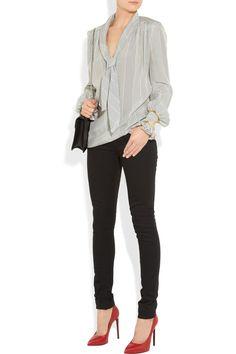 Saint Laurent | Low-rise skinny jeans | NET-A-PORTER.COM