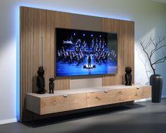 SwissHD Swiss HiFi Design Tailor made at the price of standard furniture Exe Tv Cabinet Design, Tv Wall Design, Hd Design, Custom Design, Tv Unit Decor, Tv Wall Decor, Tv Unit Furniture Design, Home Cinema Room, Living Room Tv Unit Designs