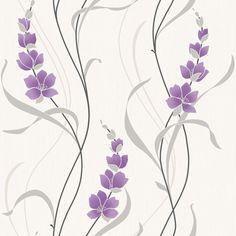 Muriva Angelica Trail Purple Wallpaper 126101