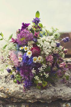 Wedding Magazine - Real wedding bouquets