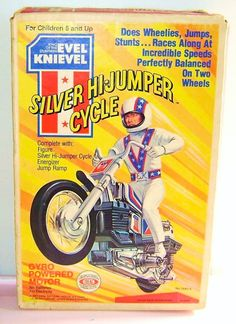 Silver Hi-Jumper, Evel Knievel toy by Ideal