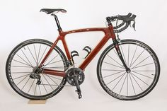 A stunning wooden bike. Who even knew such a thing was possible?