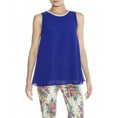 Darling Blue Catherine Top Peplum, Spring Summer, Blue, Tops, Women, Fashion, Moda, Women's, Fashion Styles