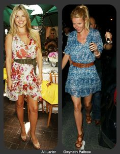 I'm loving all these casual summer styles, from flirty belted dresses, to basic denim, these gals looks so fun & summery!