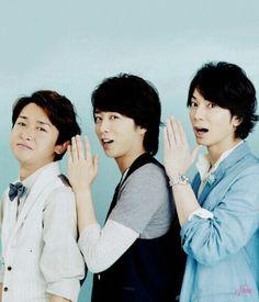 ohno satoshi + Sakurai Sho 櫻井 翔 + matsumoto jun You Are My Soul, Japanese Boy, Boy Groups, Fangirl, Handsome, In This Moment, Album, Actors, Celebrities