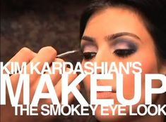 Kim Kardashian Smokey Eyes Tutorial