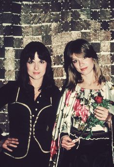 Ann and Nancy Wilson of Heart, 1977