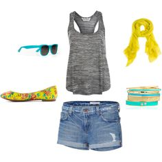 California Summer, created by jackieboyd on Polyvore