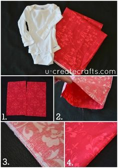 Baby gown tutorial