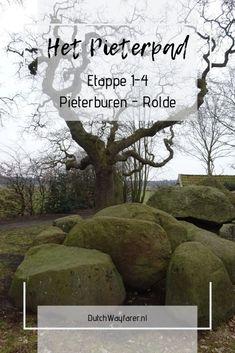 In de eerste vier etappes van het Pieterpad lopen we  van het startpunt in Pieterburen (GR) tot Rolde (DR). Door het Hogeland, en via de Hondsrug tot aan het Drents Plateau. Hiking Trails, To Go, Walking, World, Places, Bliss, Maps, Wanderlust, Travel