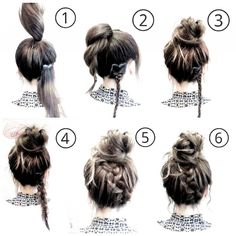 Quick Hairstyles For School, Fast Hairstyles, Easy Hairstyles For Long Hair, Casual Hairstyles, Straight Hairstyles, Step Hairstyle, Wedding Hairstyles, Hairstyle Tutorials, Ethnic Hairstyles