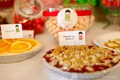 A Red Egg Candy & Dessert Buffet    {{Candy Buffet Design: AJBEvents ---Stationary Design: Signatures by Sarah---Photography: Andrea Takeoka Photography}}