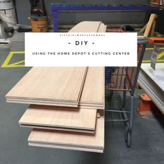 Using the Home Depot Cutting Center is so easy!  Check out this post to see how!   #diy #diywoodprojects #diyhomedecor #diyprojects #diycrafts #homedecorideas #homedepot Diy Barn Door, Diy Door, Barn Doors, Woodworking Projects Diy, Diy Wood Projects, Home Depot Projects, Diy Home Decor On A Budget, Home Safety, Home Repair