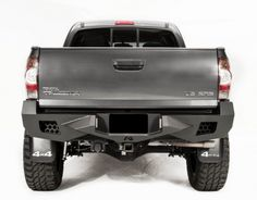 Fab Fours - Fab Fours Vengeance Rear Bumper Toyota Tacoma - Today Pin Toyota Hilux, Toyota 4x4, Toyota Trucks, Toyota Tundra, Toyota Tacoma, Tacoma Bumper, Tacoma Truck, Tacoma Accessories, Truck Accessories