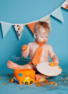 How to Prepare for a Cake Smash Photo Shoot | Backdrop Express Photography Blog