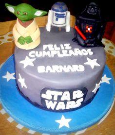 TORTA STAR WARS - idea torta - regalo - smash the cake - cake design - fotografie bambini - torta compleanno