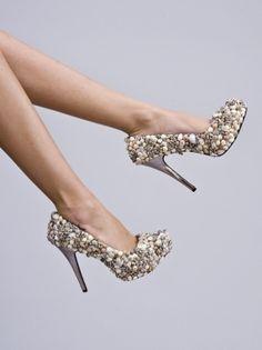 Seashell fantasy shoe...