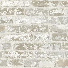 York Wallcovering Beige Book Up The Wall Wallpaper RB4304  #colorinspiration #gray #forthehome