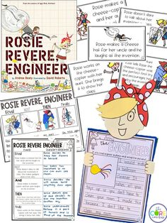 Have students write what they would engineer if they were an inventor. The Rosie Revere craft is sooo cute!!!