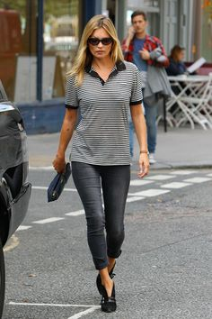 Kate Moss Look Sport y sencillo