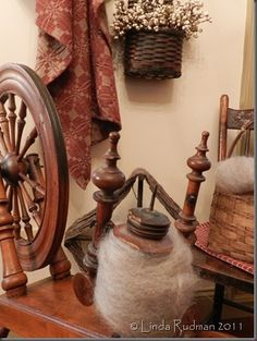 old spinning wheel - Bing Images