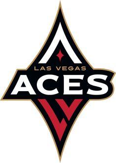 Las Vegas Aces Primary Logo on Chris Creamer s Sports Logos Page -  SportsLogos. A virtual museum of sports logos 77d1c096b765