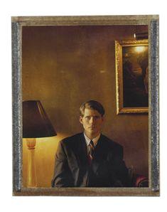 Crispin Glover, Los Angeles, 2002 - Framed / 16 x 20