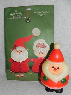 Vintage Hallmark Christmas decorations by sewbytheshore on Etsy