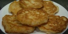 Amish Onion Patties 3/4 cup flour 1 TBS sugar 1 TBS cornmeal 2 tsp baking powder 1 tsp salt  3/4 cup milk 2 small chopped onions oil for frying Mix together dry ingredients add milk, stir, batter will be thick. Add onions, mix well. Heat 1/2 inch oil in skillet over med high heat. Drop batter by TBS in hot oil, flatten slightly. Brown both sides until nice & crisp, drain on paper towels.