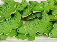 Crock cookies Peter Pan baby shower