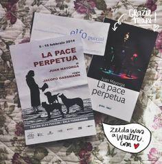 La pace perpetua | Zelda was a writer