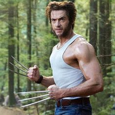 Hugh Jackman as Logan/Wolverine in X-Men 2 The Last Stand Origins: Wolverine Wolverine Days of Future Past Logan Wolverine, Wolverine Claws, Wolverine Movie, Wolverine 2009, Logan Xmen, Hugh Jackman, Hugh Michael Jackman, Costumes, X Men