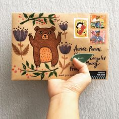 Snail MailYou can find Snail mail and more on our website. Pen Pal Letters, Letter Art, Letter Writing, Snail Mail Pen Pals, Snail Mail Gifts, Mail Art Envelopes, Paper Art, Paper Crafts, Decorated Envelopes