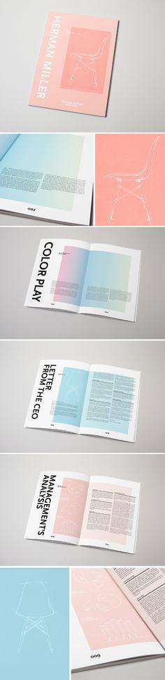 Annual Report by Jolene Cody, Shillington Graduate #shillington #shillingtoneducation #studentwork #annualreport #shillony #graphicdesign