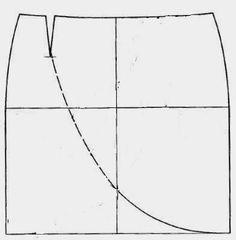 Las faldas son, en general, fáciles de confeccionar. Aquí tienes este patrón gratis falda tulipán para un resultado elegante y cómodo.