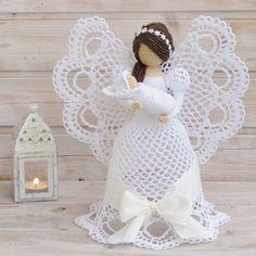 Andělka s miminkem