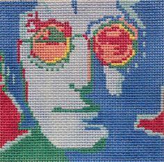 Tess & Thorn # TT17 Imagine Lennon, 13 mesh,  4.75 x 4.25