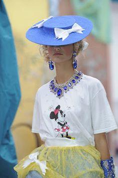 Minnie Mouse mania at London Fashion Week
