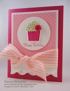 Stampin' Up! - Create a Cupcake  Punch by lena