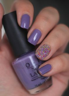 Love the color! Caviar nails