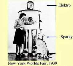 Vintage Elektro and Sparky, 1939