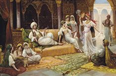 A-Dance-In-The-Harem-J.G.-Delincourt