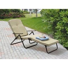 Lounge Patio Chair Outdoor Yard Beach Steel Frame Relax Summer Sun Home New  #LoungeChairs
