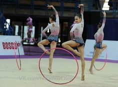 Rhythmic Gymnastic Team Bulgaria, Moscow 2014,