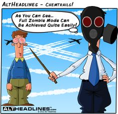 Chemtrails - A Simple Explanation Of Chemtrails - Satire