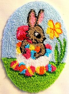 Punch Needle Kit The Easter Bunny
