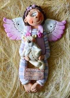 Salt angel, masa solna for baby by arcydziełka