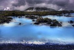 Iceland Blue Lagoon.