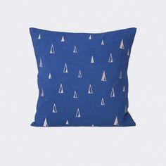 Cone Cushion - Blue