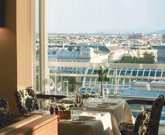 Blick über Wien - Restaurant Das Schick